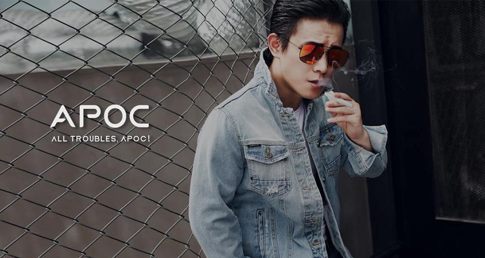 APOC电子烟:打造新一代一次性电子烟品牌差异化