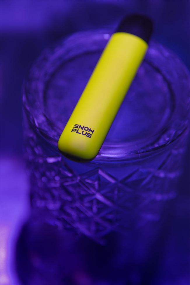 雪加SNOWPLUS首推夜魔荧光系列,成电子烟市场最潮品牌