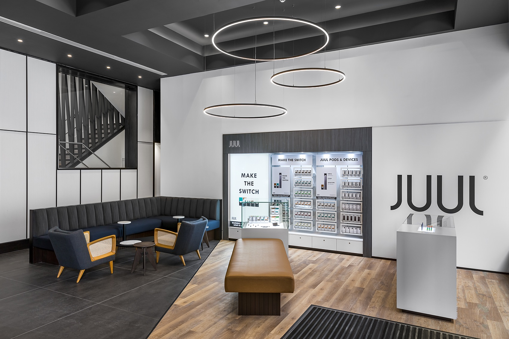 JUUL在上海北京这些一线城市有实体店没有。